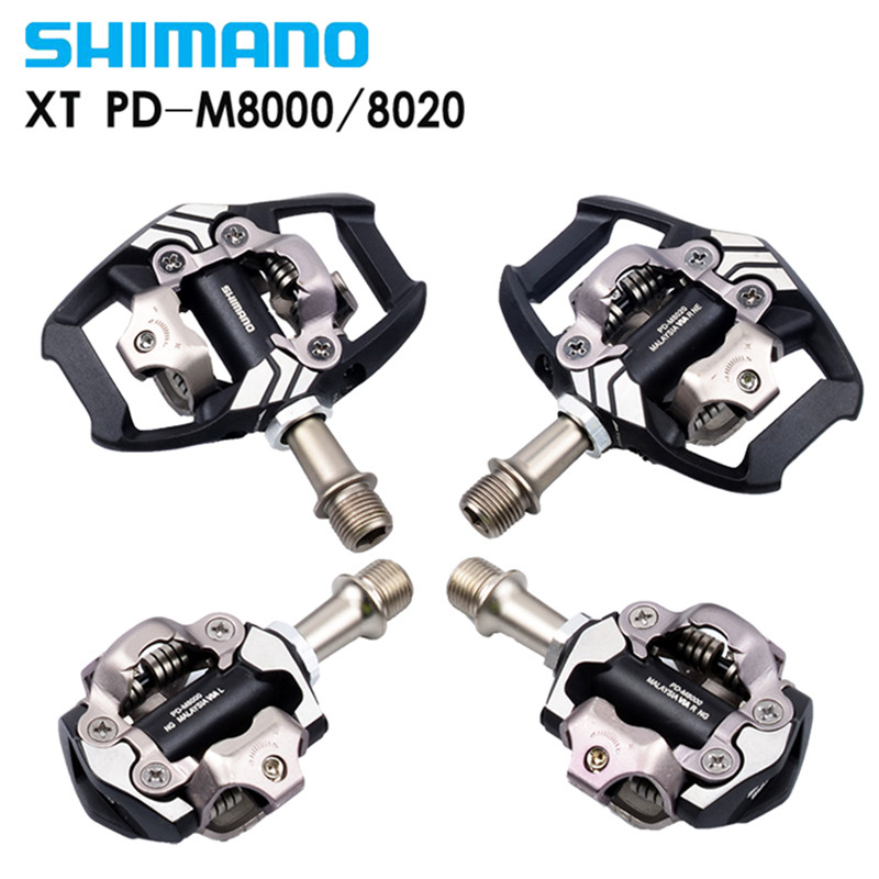 US $72 0 10% OFF|Shimano DEORE XT PD M8000 m8020 Self Locking SPD Pedals  MTB Components Using for Bicycle Racing Mountain Bike Parts-in Bicycle  Pedal