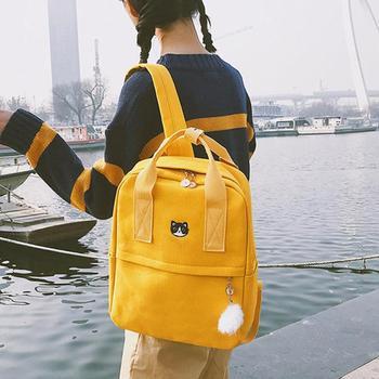 a04c82fb32bf Product Offer. Опрятный женский рюкзак для школы Подростковая девушка  винтажная стильная женская школьная сумка ...