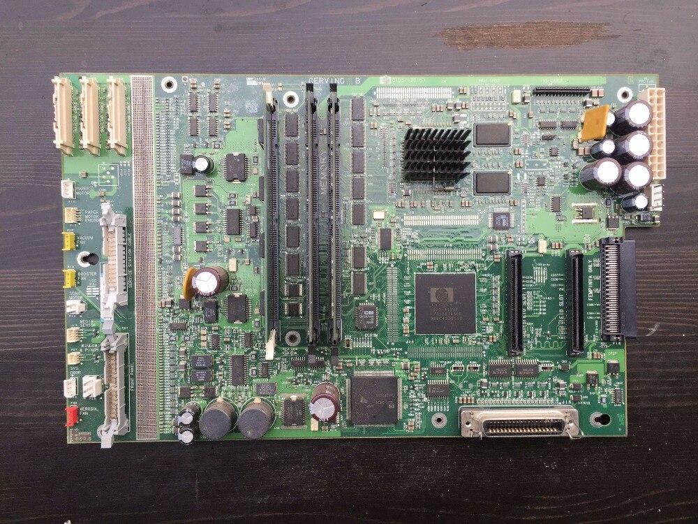 Q1251-20151 logic main board for hp 5500 printer main logic pc board for hp designjet 5500 5100 q1251 69269 q1251 69030 c6090 60012 q1251 60269 used