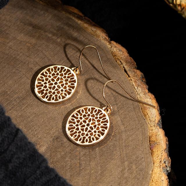 Oriental Drop Earrings