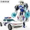 Прохладный Деформации 4 Игрушки Роботы Автомобиль Бак Военная Модель Фигурки Brinquedos Juguetes Пластик ABS Классические Игрушки Мальчик Подарки