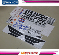 Motorcycle Fairing Kit Decals Sticker For HONDA REPSOL RCV212 CBR 600 1000 RR VTR HRC Complete Stickers Decal Accessory
