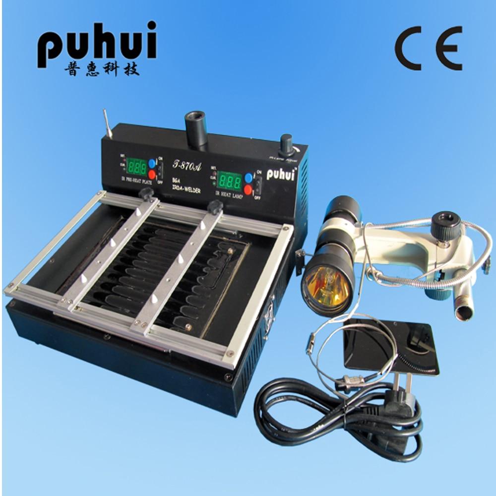 Įgaliota PUHUI T-870A BGA IRDA suvirintojo infraraudonųjų litavimo - Suvirinimo įranga - Nuotrauka 2