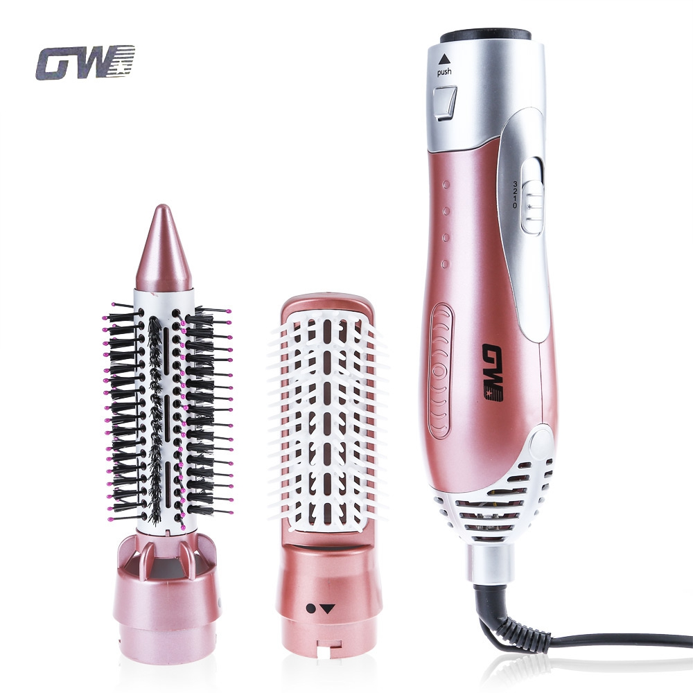 GW 220-240V Electric Hair Curling Irons 1200W Styler Hair Blow Dryer Machine Brush Comb Straightener Curler Styling Tool шампунь для интенсивного увлажнения волос 250 мл estel otium