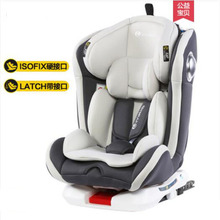 Child Safety Seat 0-12 Years Old Baby Automobile Isfix Interface 360 Degree Rotating