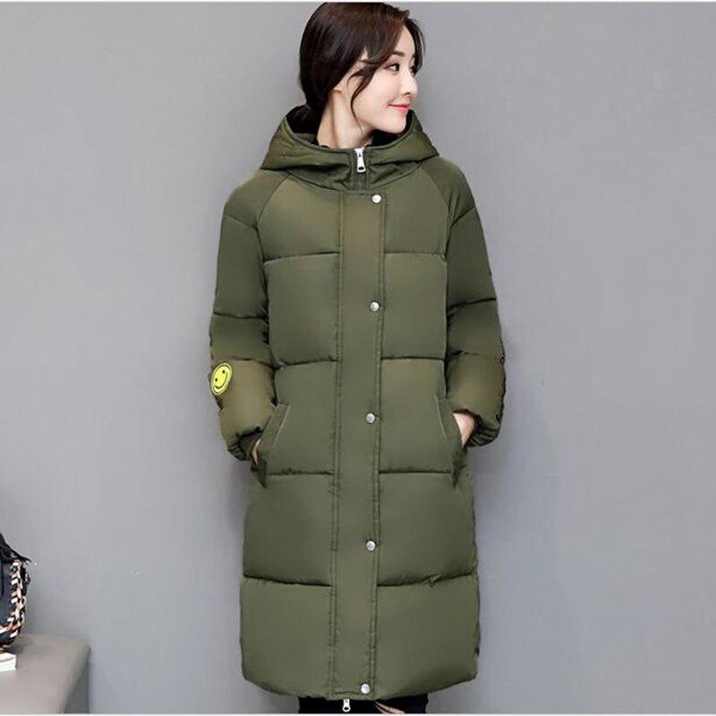 2017 Arrival Winter Coat Women Fashion Long Female   Parkas   Hooded Thick Warm Cotton Jacket Women Loose Plus Size 4XL Outerwear