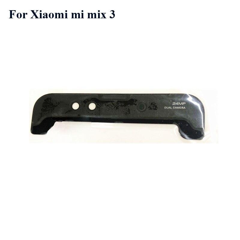 Для xiaomi mi mix 3 mix3 новая крышка передней двери верхний кронштейн для камеры стеклянный объектив Xiao mi mix3 mix3 Замена