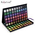Rosalind Colores Completos Paleta Sombra de Ojos Maquillaje Profesional 120 Color de Sombra de Ojos Maquillaje Paleta Gama de colores Cosmética