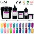 Bulk package 350g 500g 1kg ibdgel Soak off UV LED nail gel polish wholesale
