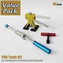 PDR Инструменты Paintless Dent Repair Auto Body Дент Инструменты Удаления Дент Комплект PDR-255