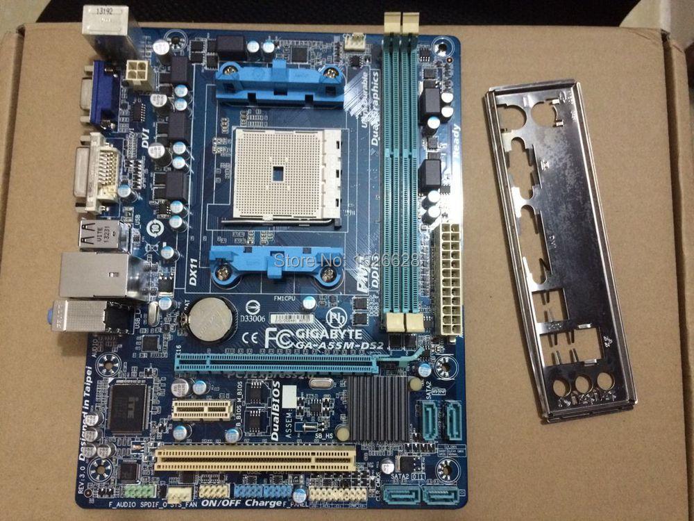 Gigabyte GA-A55M-DS2 Windows 8 X64