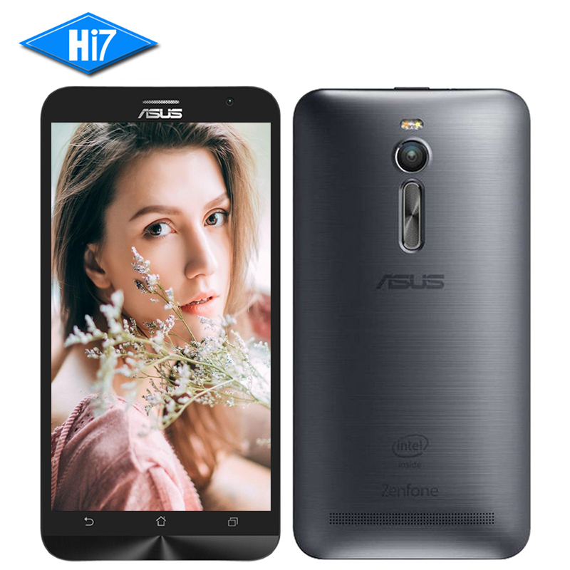 New ASUS Zenfone 2 Ze551ML 64GB ROM 4GB RAM 2.3GHz Z3580 5.5inch 13MP Camera Quad Core LTE 4G Android Dual Sim Mobile Phone