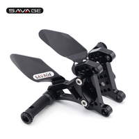 Front Rider Footrest For MV Agusta Brutale 1090/1078/990/920/910/989/750 Motorcycle Foot Pegs Pedal Control Kit Articulated