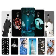 "TPU Cases for Meizu 15 Lite M15 Slim Soft Silicone Cover Mog Design for Meizu M15 Mobile Phone Case 5.46"" for Meilan 15Lite"