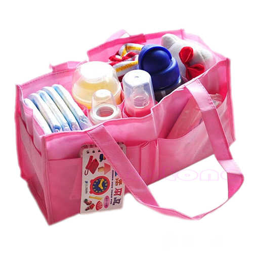 Leche de bebé botella de almacenamiento de botella de práctica madre bolso de pañales BagOrganizer