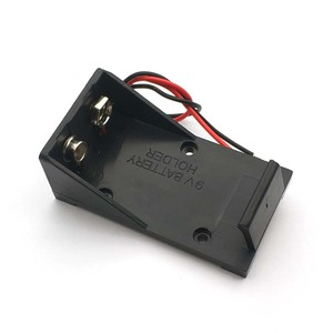 Image 3 - 9V Battery Clip Holder Case Box with Wire Leads DIY