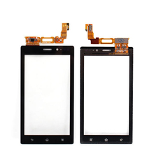 Wholesale 10pcs/lot New original touch screen digitizer for Sony Xperia sola Mt27 MT27i touch screen free shipping