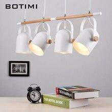 Botimi Регулируемый Подвесные светильники для столовой Современный Утюг подвесной светильник с металла абажуры E27 LED подвеска Освещение светильники