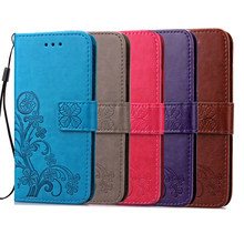 Luxury leather wallet retro lật bìa cho coque samsung galaxy a3 a5 j1 j3 j5 2016 s7 s6 cạnh s3 s5 s4 s3 grand prime coque(China)