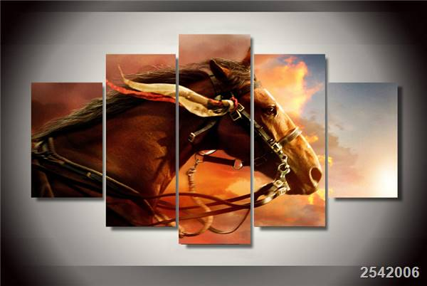 Hd Printed Animals Horses Painting On Canvas Room Decoration Print Poster Picture Canvas Free Shipping/Ny-2724 Christmas gift