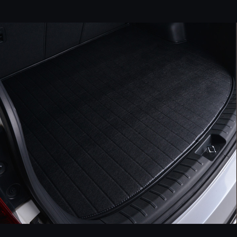 Special car trunk mats for Jaguar All Model XF XE XJ F-PACE F-TYPE brand firm car accessorie auto styling auto mats special rubber latex green car trunk mats case for benz smart desinged for original car model