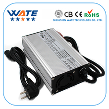 WATE 48 v 10A Charger 48 v Lood zuur batterij Slimme Lader Gebruikt voor 58.8 v Loodaccu uitgangsvermogen aluminium case