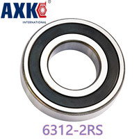 Thrust Bearing Rolamentos 6312zz 6312 2rs Bearing 1pcs 60x130x31 Mm Ball Black Edging And Corner Z3v3