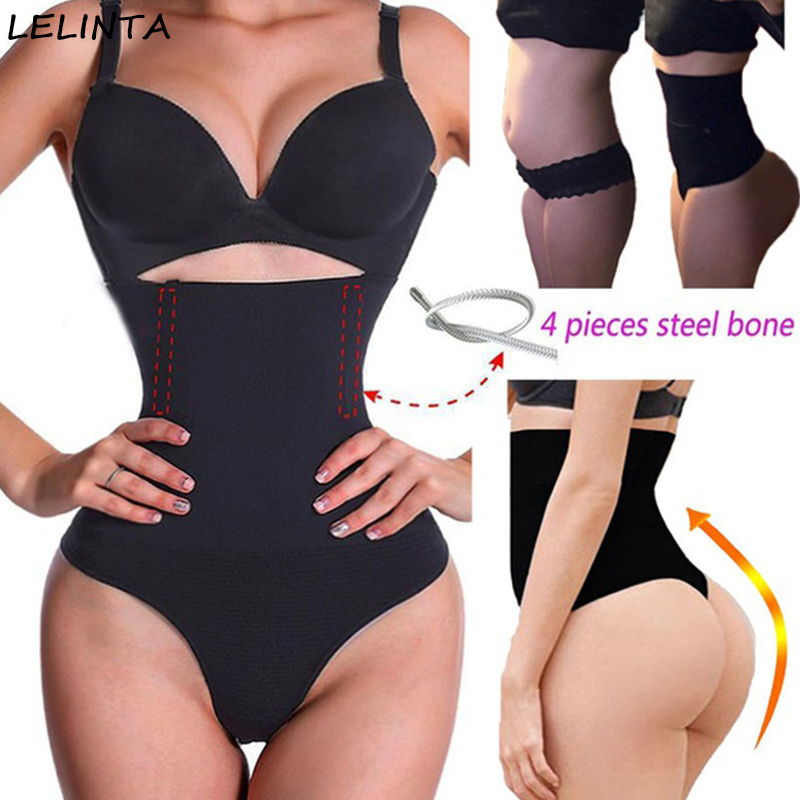 6e32d1315a89b Women Waist Cincher Girdle Stomach Shaper Tummy Slimmer Sexy Thong Panties  Shapewear Waist Trainer Slimming Hot Body Shapers