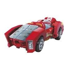 1 قطعة قوة من Primes Novastar النساء الأحمر سيارة عمل الشكل الكلاسيكية لعب للأولاد الأطفال