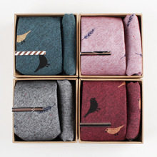 6 Cm Wide Pure Cotton Cartoon Printing Man Tie,Handkerchief, Tie Clip Gift Box Packing Many Color charming tie pin clip silver black
