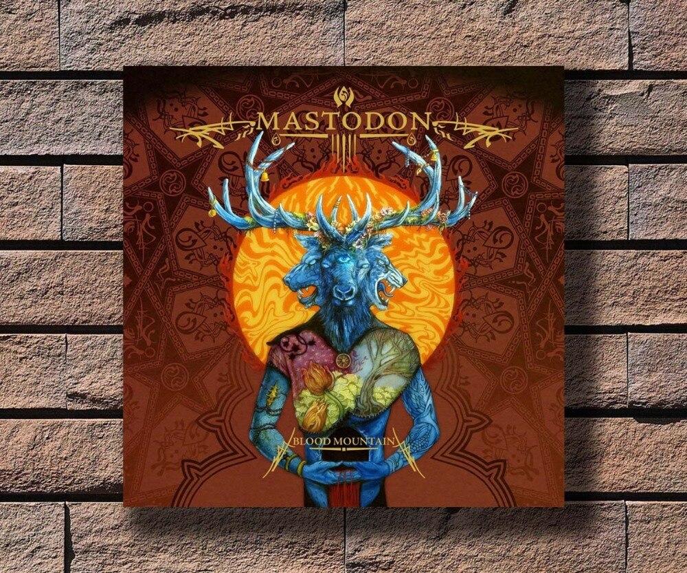 "Mastodon poster wall art home decoration photo print 24/"" x 24/"""