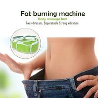 Body slimming massager Electric Fitness Vibrating device massage belt Fat burning thin Waist leg belly machine weight losing