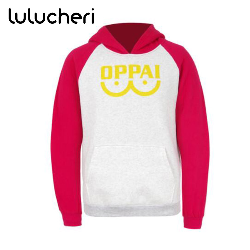 Anime One Punch Man Hoodies Saitama Oppai Cosplay Costume Man Sweatshirts Halloween Jacket Outfit With Pocket