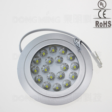 DC 12V 1.5w SMD 3528 18leds home kitchen LED under Cabinet Light wardrobe round flat surface cold white /warm white