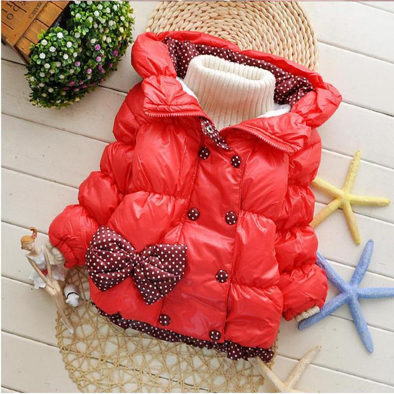 Baby Girls Clothing And Coats Snow Wear Snowsuit Children s Cotton Down Winter Jackets Hooded Suits