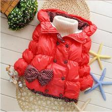 Baby Girls Clothing And Coats Snow Wear  Snowsuit Children's Cotton Down Winter Jackets Hooded Suits