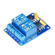 20PCS 2 Channle 24V Relay Module Relay Expansion Board 24V low level Triggered 2Channel Relay Module for Arduino