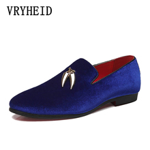 VRYHEID Big Size Men oxford shoes quality handsome comfortable men casual luxury brand party and wedding mens loafers