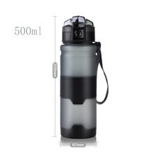 Hot Sale 500ml Portable Motion Tritan Water Bottle Bpa Free Plastic For Sports camping hiking