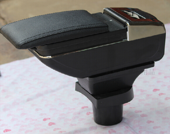 for Vw armrest box special pullo polo hand box modified car accessories  Black color