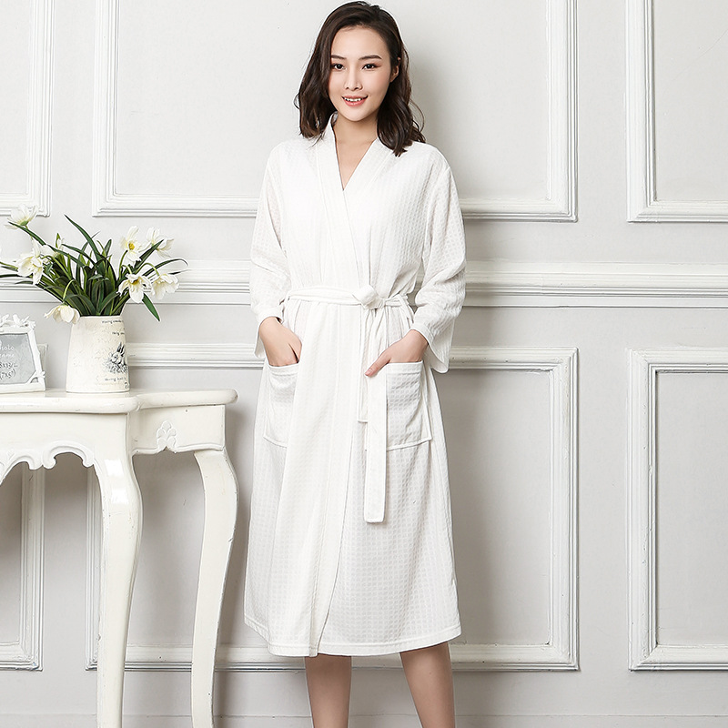 Plus Size Women Kimono Bathrobe Cotton Long Sleepwear Chinese Bride Bridesmaid Wedding Robe Sexy Nightgown Lady Solid Nightwear