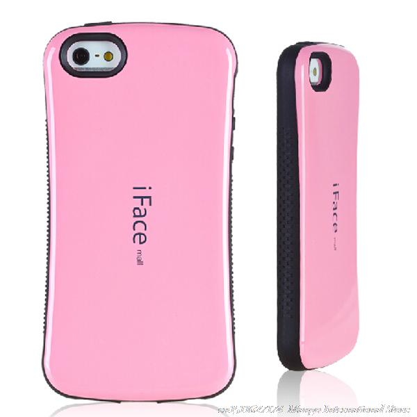 promo code 18834 4f645 US $6.55 |iFace Slim Silicone Hard Back Case For iPhone 5 5s Cover Silicon  Luxury Capa Para Phone Cover For Apple iPhone 5s Case Girl Cute on ...
