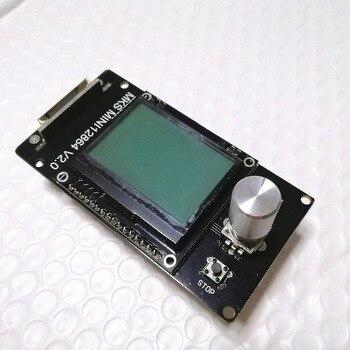 Makerbase MKS MINI12864LCD v2.0 RepRap 12864 GLCD ekran ciekłokrystaliczny mini kontroler wyświetlacza lcd12864 drukarka 3d materiały LCD