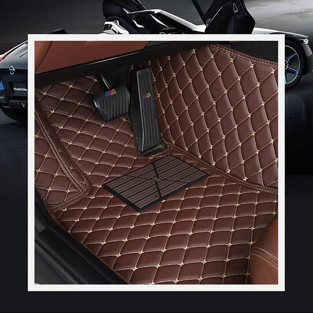 Car Believe Auto car floor Foot mat For pajero sport 4 grandis lancer outlander xl 2017 2013 car accessories waterproof carpet