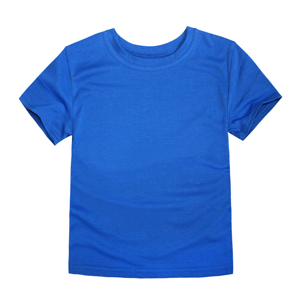 HTB1deARalgXBuNjt hNq6yEiFXa5 - Boys T Shirts Girls Plain Tops Children Short Sleeve Cotton Blanket T-shirts Team Clothes OEM ODM Tees Baby Clothes