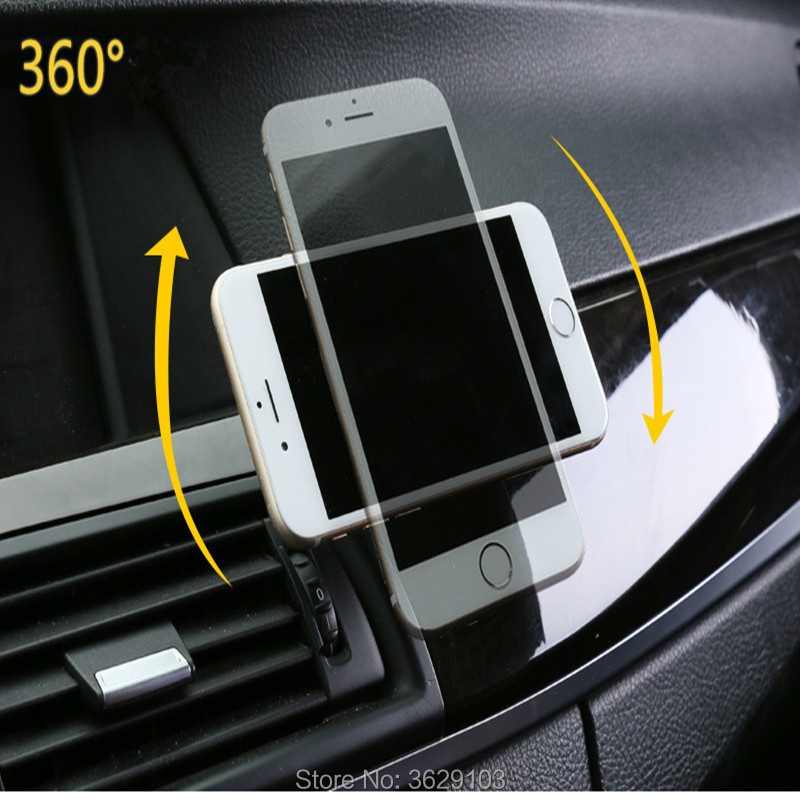 Universal Car Magnetic Bracket 360 Degree Rotation Car Phone Holder for Land Rover discovery 2 3 4 freelander 1 2 defender a9 a8