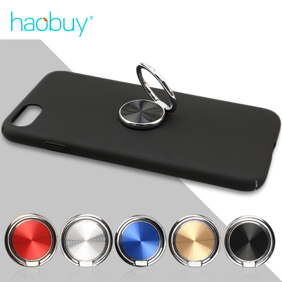 CD Spin 360 Degree Finger Ring Mobile Metal Phone Holder