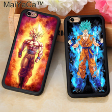 Dragon Ball Z Soft Rubber Phone Cases For iPhone