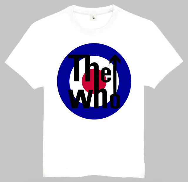 Europe Fashion Mens Music The Band The Who T Shirt Summer Short ...