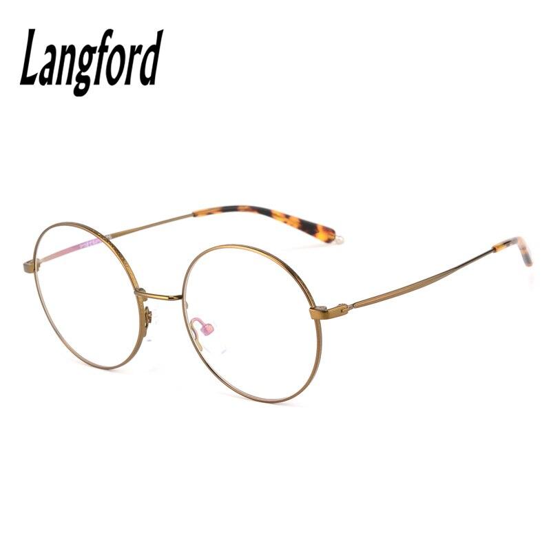3a7b32c7ab thin round glasses eyeware vintage big round frames gold eyeglass frames  for men woman myopia astigmatism frame eyeglasses 027 -in Eyewear Frames  from ...
